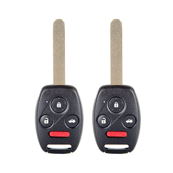 Remote Starters SCITOO 2X Uncut 4 Buttons Keyless Entry Fob Key ...