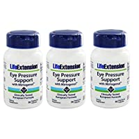 Life Extension Eye Pressure Support with Mirtogenol, 30 Vcaps (3-Pack)