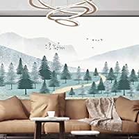 Albert Lindsay Backdrop Wall Paper Decorations Chinese Painting Landscape Beautiful White Removable Large Sticker,154