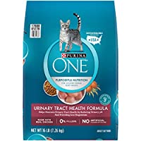 Purina ONE Urinary Tract Health Formula Adult Premium Cat Food - (1) 16 lb. Bag (178641)