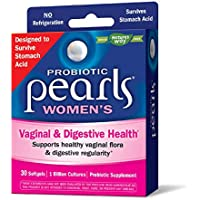 Nature's Way Probiotic Pearls Daily Women's Supplement, 1 Billion Cultures, 30 Softgels (Packaging May Vary)