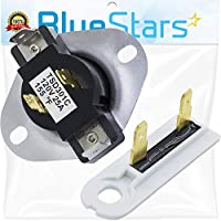 Replaces 3977394 3389946 3390291 3398671 695563 AP3094224 Jingmg 279769 Dryer Thermal Fuse Thermostat Kit Replacement Part for Whirlpool /& Kenmore Dryers
