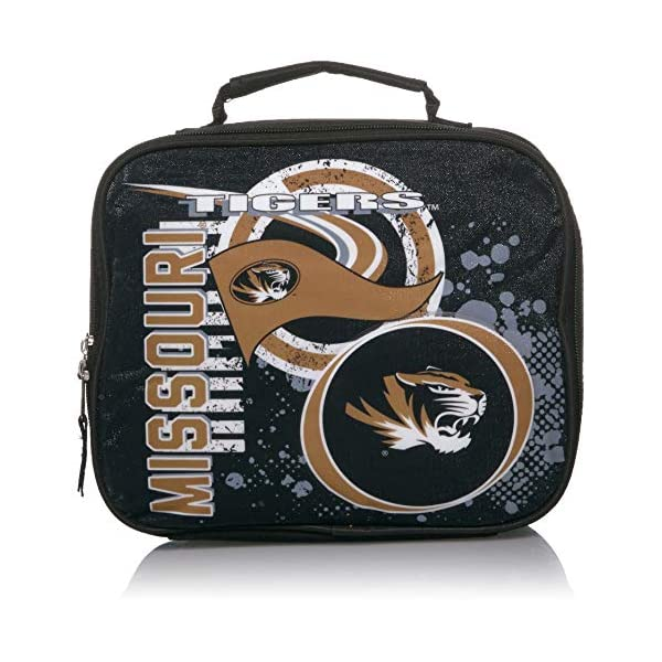 Multi Color 10 x 8.5 x 3 The Northwest Company Officially Licensed NCAA Lightning Kids Lunch Kit Bag