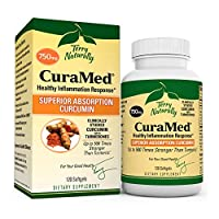 Terry Naturally CuraMed 750 mg - 120 Softgels - Superior Absorption BCM-95 Curcumin Supplement with Turmeric, Promotes Healthy Inflammation Response - Non-GMO, Gluten-Free, Halal - 120 Servings