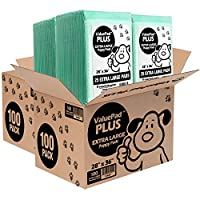 ValuePad Plus Puppy Pads, Extra Large 28x36 Inch, 200 Count - Premium Pee Pads for Dogs, Tear Resistant, Super Absorbent Polymer Gel Core, Leak-Proof 5-Layer Design