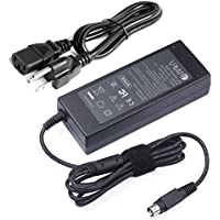 SLLEA AC//DC Adapter for MicroBoard N2716WQX i2706led 27-inch IPS LED Monitor WQHD Replacement Switching Power Supply Cord Cable PS Charger