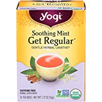 Yogi Healing Formula Organic Tea, Soothing Mint Get Regular 16 ea