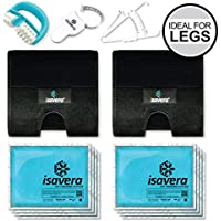 Isavera Thigh Fat Freezing System - Thigh Trimmers – Legs Toner & Shaper for Women & Men – Thigh Gap Wraps – Lose Thigh Fat Weight Loss Trainer