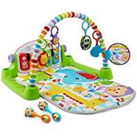 Fisher-Price Deluxe Kick & Play Piano Gym & Maracas [Amazon Exclusive]