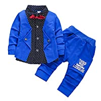DIGOOD Teen Baby Boys Girls Loafer Vest+Plaid Shorts,for 1-5 Years Old,2Pcs Outfits Summer Clothes Sets