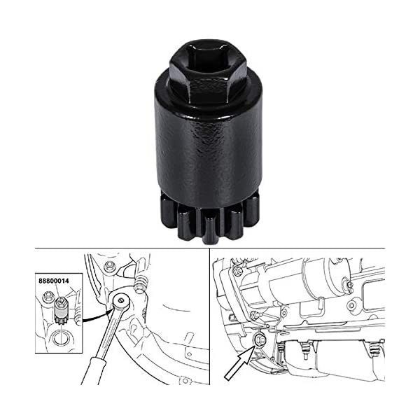 Yoursme Crank//Flywheel Turning//Barring Tool for 2008-2018 Volvo Trucks D11 D13 D16 Engines /& Mack Trucks MP7 MP8 MP10 Engines 88800014 88840317