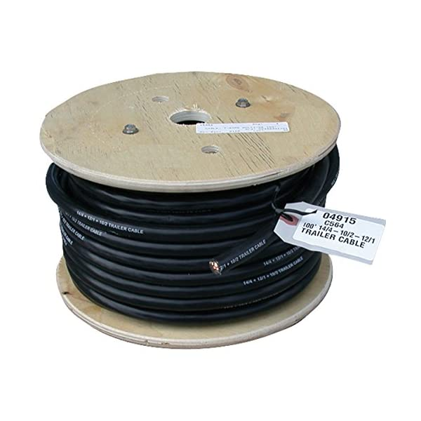 EAZ LIFT 14 Gauge 7 Conductor Trailer Cable 64652 100ft