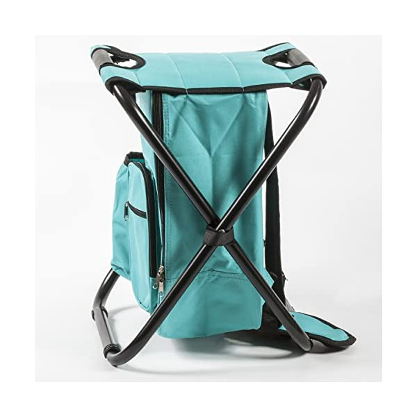 Height-Adjustable Home or Outdoor Barbecue Fishing NNA Portable Folding Stool Maximum Load 330 lb Third Generation Camping Stool Lightweight Camp Folding Stool