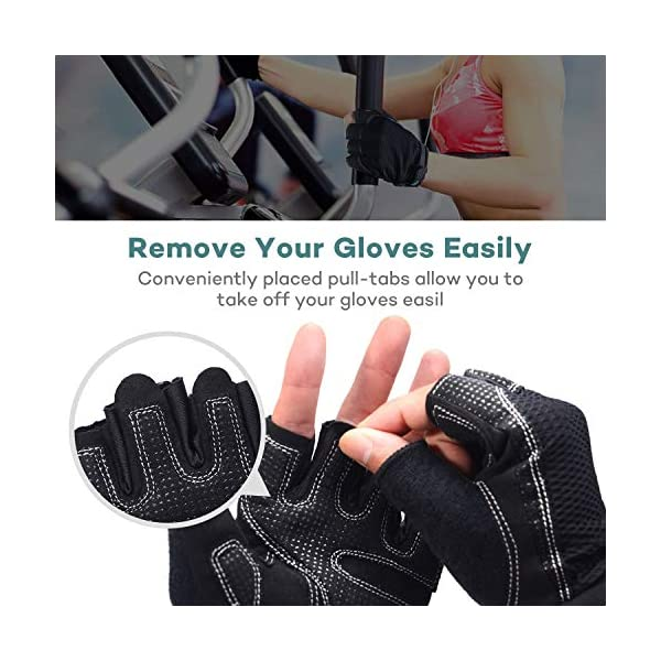 VIPEX Workout Gloves for Women Men Training Gloves Gym Gloves for Fitness Exercise Weight Lifting Full Palm Protection /& Extra Grip