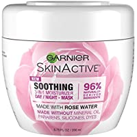Garnier SkinActive 3-in-1 Face Moisturizer with Rose Water, 6.7 Fl Oz (Pack of 1)