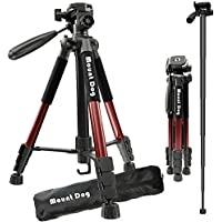 Color : A222 M1 KF0 Jusun 165Cm Portable Professional DSLR Monopod Walking Stick with M-1 Mini Tripod Stand Base /& Tripod Ballhead for DSLR