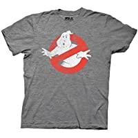 Ripple Junction Ghostbusters Distressed No Ghost No Type Adult T-Shirt