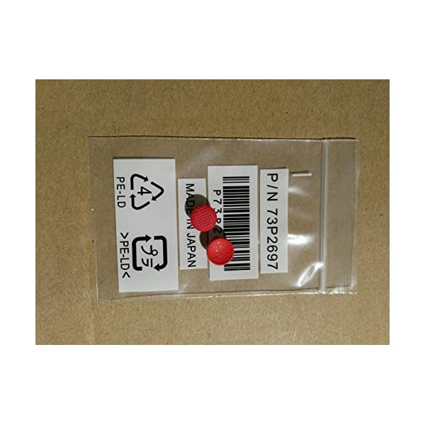 Nbparts 2X Pointer Trackpoint Red Cap for Lenovo Thinkpad Laptop T60 T60p T61 T61p T400 T400s T410 T410s T410i T410si T420 T420s T430 T430s T500 T510 T510i T520 T520i T530 Cap