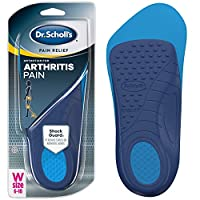 Dr. Scholl's ARTHRITIS Pain Relief Orthotics // Clinically Proven Immediate Relief of Osteoarthritis Pain in Feet, Knees and Hips (for Women's 6-10, also available for Men's 8-12)