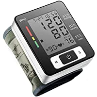 Artificial Flower Wrist Blood Pressure Monitor, Wrist Portable BP Monitor for Home Use, with LCD Display Memory Storage Function Clinical Accuracy Fully Automatic Digital Blood Pressure Monitor