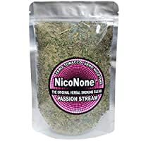 NicoNone Herbal Smoking Blend 1oz Refill Bag (Passion Stream)