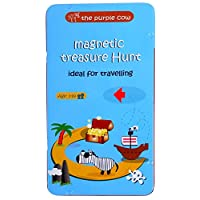 Magnetic Travel Treasure Hunt Game - Car Games , Airplane Games and Quiet Games