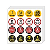 Creanoso Funny Stickers Series 2 - Gag Prank (10-Sheet) - Assorted Designs for Children - Classroom Reward Incentives for Students - Stocking Stuffers Party Favors & Giveaways for Teens & Adults