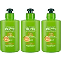 Garnier Fructis Sleek & Shine Intensely Smooth Leave-In Conditioning Cream, 10.2 Ounce (Pack of 3) (Packaging May Vary)