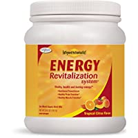 Enzymatic Therapy Fatigued to Fantastic! Energy System, Tropical Citrus Flavored, 30 Day Supply