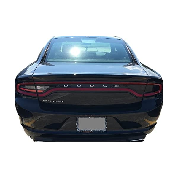 20/% Dark Smoke Precut Vinyl Tint Cover for 2011-2014 Dodge Charger Taillights