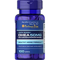 Puritans Pride Dhea 50 Mg Tablets, 100 Count