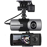 """NOVPEAK Car Dash Cam, 1080P Full HD Dashboard Camera Recorder 2.7"""" LCD 140° Wide Angle On Dash Video Driving DVR with G-Sensor, Loop Recording, GPS Trader, WDR"""