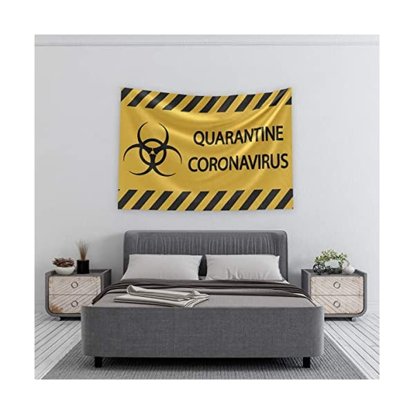 10 Width Black on Yellow 7 Height Brady 126050 Chemical and Hazard Sign LegendQuarantine Area