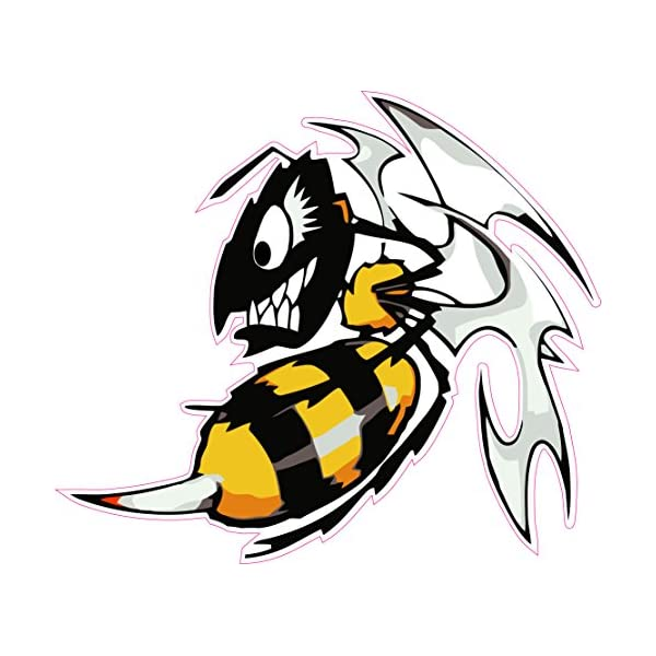 Ski-Doo Angry Bee X Large Decal 24 Fast from The United States