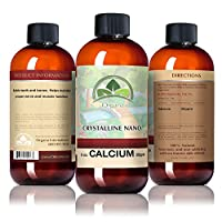 The Best Calcium Mineral Supplement - Nano Size Calcium Single Mineral Supplement - Liquid Calcium Absorbs 10 Times Better Than Pills - Buy My Liquid Calcium Supplement Today