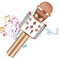 SEPHIX Best Gifts for 5-15 Year Old Girls Toys - Bluetooth Portable Karaoke Microphone for Kids