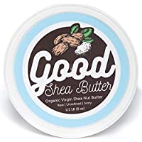 Shea Butter - organic - 100% pure & raw - ivory unrefined - moisturizing for dry skin (8 oz)