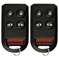 72147-SHJ-A61 6 Button Keyless2Go Keyless Entry Remote Car Key Fob for Select Honda Odyssey Vehicles That use OUCG8D-399H-A