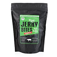 PetzPaw Beef Jerky Dog Treats – All Natural Healthy Snack Bites for Your pet – Made in The USA – Grain, Wheat, Soy, Gluten Free – Perfect for Dog Training