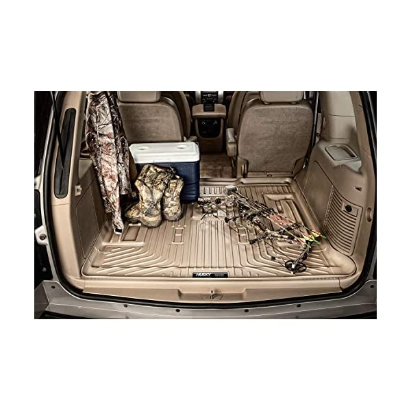 Husky Liners Fits 2011-19 Dodge Durango with 2nd Row Bench Seat and 3rd Row Seat Weatherbeater 3rd Seat Floor Mat