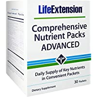 Life Extension Comprehensive Nutrient Packs Advanced, 30 Count