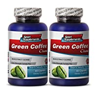Green Coffee Slim - Green Coffee Cleanse 400mg - Promote Digestive Function and Fat Burn with Premium Green Coffee Cleanse (2 Bottles 120 Capsules)
