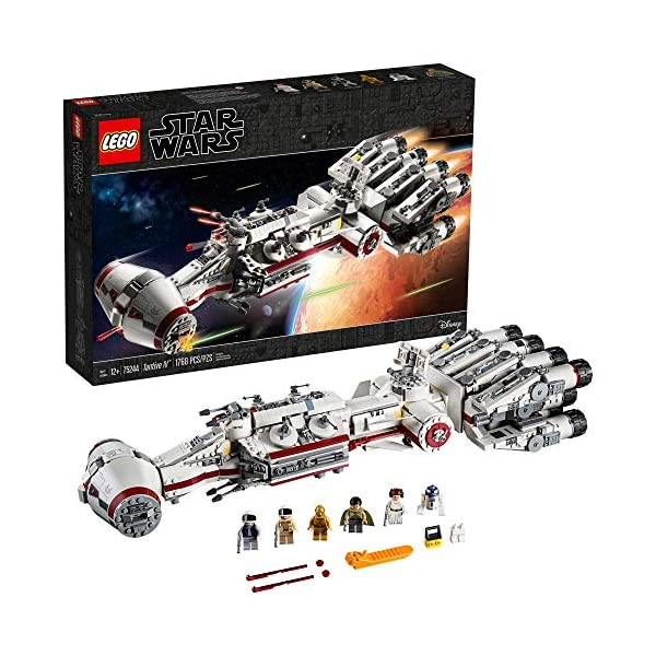 Mua Lego Star Wars A New Hope 75244 Tantive Iv Building Kit 1768 Pieces Tren Amazon Mỹ Chinh Hang 2020 Fado