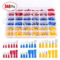 RockDIG 120Pcs 3:1 Heat Shrink Tubing Dual Wall Adhesive Lined Tube Cable Wrap Sleeve Assortment Kit 4 Large Size 1 3//4 1//2 3//8 Mix Black Red Dia