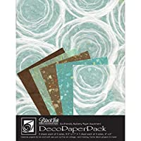 Black Ink DP-706 Dec Papers 15pc, Whimzy