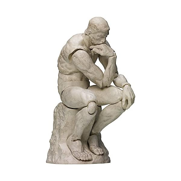 FREEing Table Museum Figma Action Figure Plaster Version The Thinker