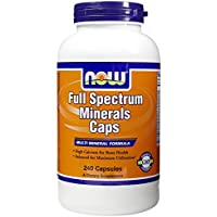Full Spectrum Minerals, 240 Caps by Now Foods (Pack of 2)