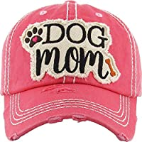 KB Adjustable Ladies Womens Dog Mom Puppy Baseball Cap Hat