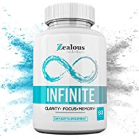 Infinite – Nootropic Limitless NZT Brain Booster Supplement – Enhance Focus, Boost Concentration & Improve Memory   Mind Enhancement with Amino Acids & DHA for Neuro Energy & IQ – 30 Day Supply