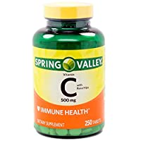 Spring Valley - Vitamin C 500 mg with Rose Hips, 250 Tablets